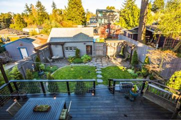 Backyard overview